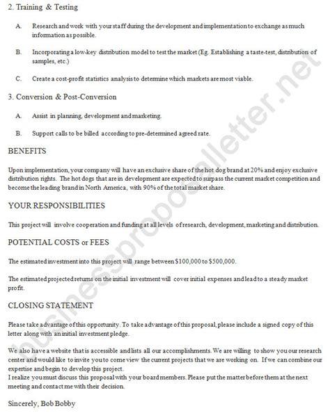 Partnership Break Letter business proposal letter bag the web