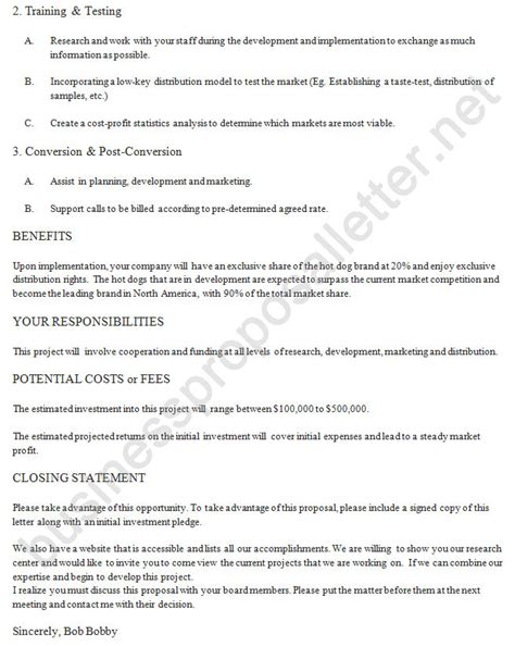 Letter For Business Cooperation Business Letter Exle 2 Http Www