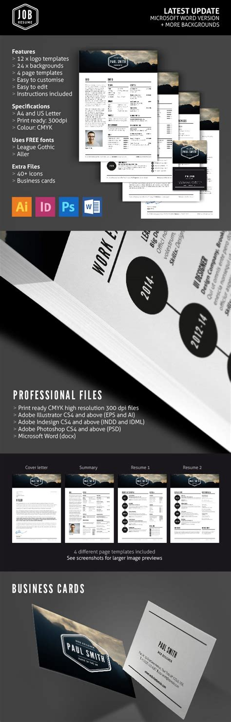 business card portfolio template 50 best resume templates design graphic design junction