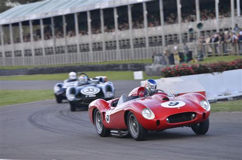 ferrari classic race car goodwood revival pays tribute to the great ferrari racing