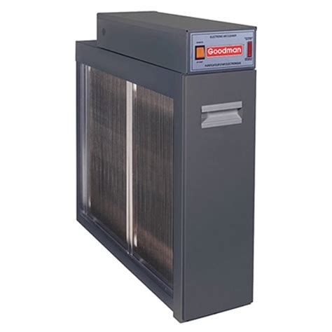 air filtration system goodman whole house high efficiency electronic air filtration system 20 quot x 25 quot x 5 quot national