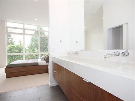 Modern Bathroom White White Rock House Ii Modern Bathroom Seattle By Method Homes