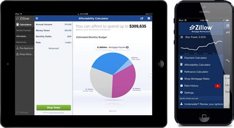 zillow design app zillow mortgage marketplace for ios gets rev