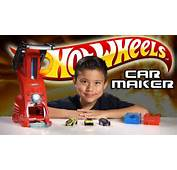 HOT WHEELS CAR MAKER Playset Review &amp Demo  YouTube