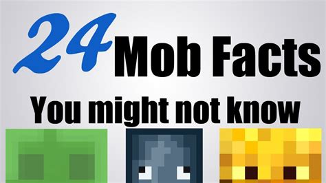 15 Things You May Not Know About Minecraft 1 8 Youtube - image gallery minecraft facts