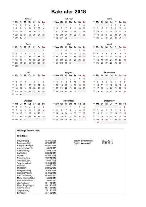 Jahreskalender 2018 Excel Jahreskalender 2018 Schweiz Im Hochformat Muster Und