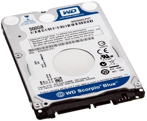 Hardisk Wd Scorpio Blue 500gb western digital scorpio blue 500gb di disk in 7mm