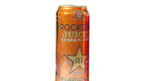 energy drink with most caffeine rockstar energy drink strength the most