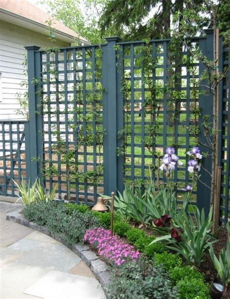 Lattice Trellis Designs inspire your garden with a trellis dig this design