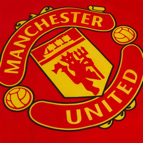 utd colors manchester united fc official football gift 5x3ft crest