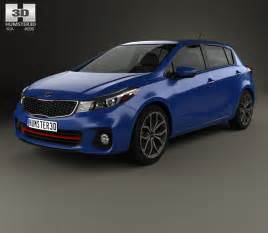 Kia Hatchback Models Kia Forte 5 Door Hatchback 2017 3d Model Humster3d