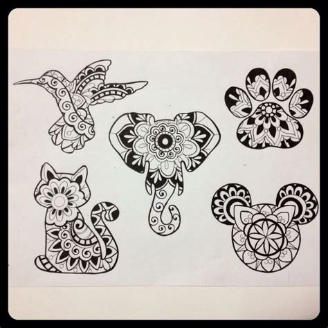 Tattoo Mandala Flash | mandala tattoo flash sheet tattoos pinterest