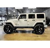 Jeep Wrangler 2013 Unlimited Rubicon  White
