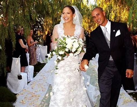 pictures of celebrity: jennifer lopez wedding dressmonster