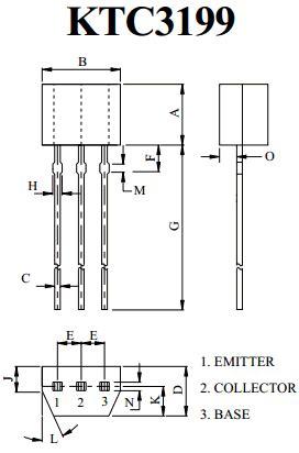 datasheet  ma npn transistor kec