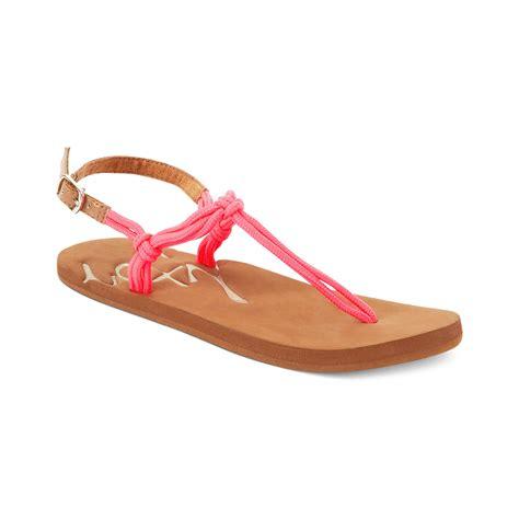 pink flat sandals flat sandals in pink pink lyst