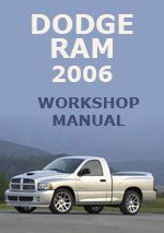 auto repair manual free download 2000 dodge ram van 1500 instrument cluster dodge ram 2006 workshop repair manual
