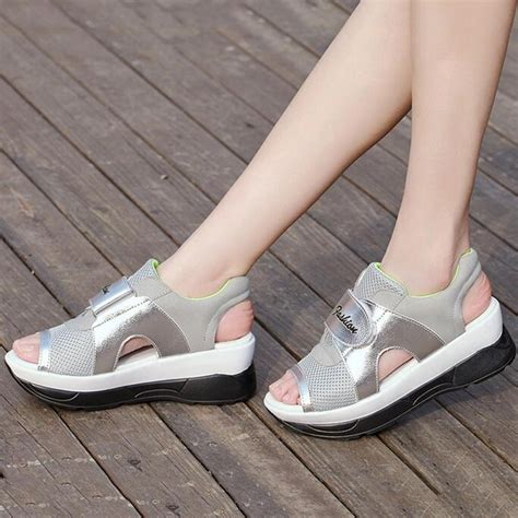 open toe athletic shoes s new peep toe sandals sneakers sports trainers