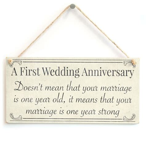 First Wedding Anniversary your marriage is one year old