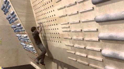 pegboard climbing wall peg board training youtube