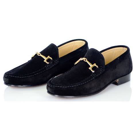 buckle shoes rodi shoes camoscio black gold buckle suede leather shoe