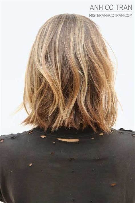 back view of mid length hair bob 20 mid length bob haircuts bob hairstyles 2017 short