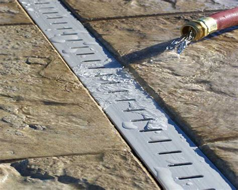 Patio Drainage Gully by Deck Or Patio Drainage For Your Inground Swimming Pool
