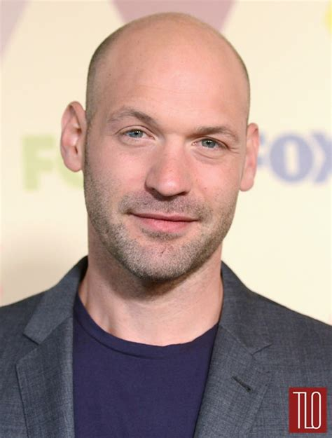 corey stoll at the fox all star party tom lorenzo