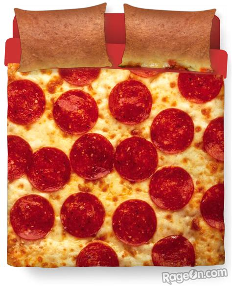 pizza bedding pizza bed duvet cover and pillow case from rageon