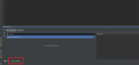 android logcat restore logcat window within android studio stack overflow