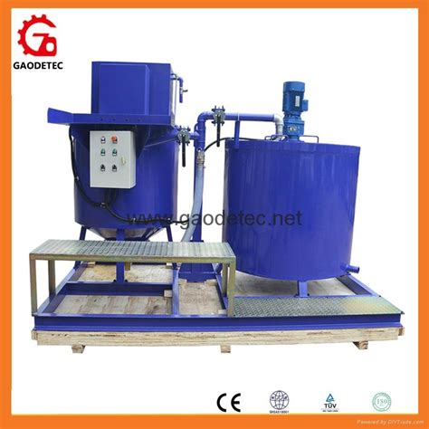 gma500 1000e big grout mixer and agitator to singapore
