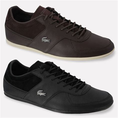 lacoste sneakers mens mens lacoste shoes taloire 13 srm sneakers genuine leather
