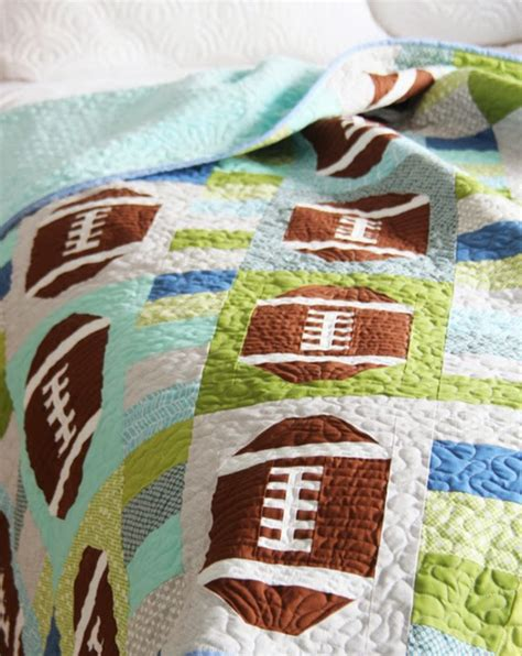 Sport Quilt Patterns by 5 Sports Quilt Patterns 24 Blocks