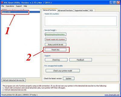 resetter wic cara reset ink level epson l100 l200 l800 tanpa sn id