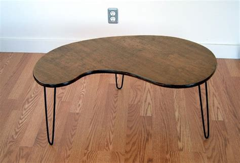 kidney bean coffee table lunar lounge