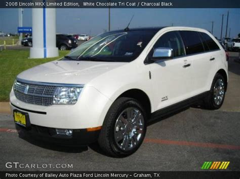 2008 lincoln mkx limited edition white chocolate tri coat 2008 lincoln mkx limited