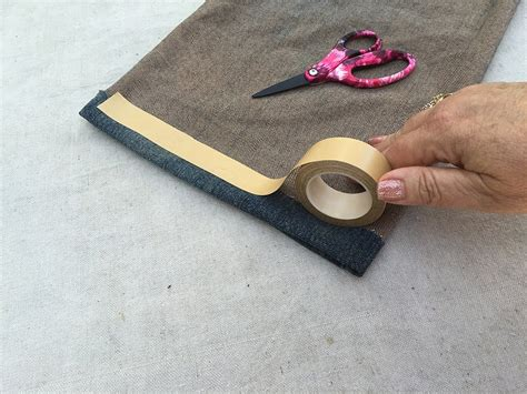 double stick no iron no sew fashion hem tape for denim how to hem pants with double sided tape howsto co