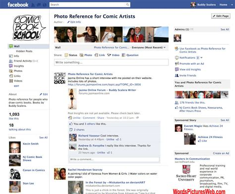 a fan page fan pages can be effective for engaging with your