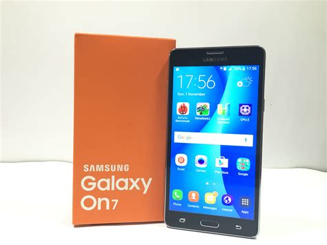Samsung On7 samsung galaxy on7 unboxing on review