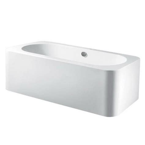 freestanding rectangular bathtub aqua eden modern 5 9 ft acrylic center drain freestanding