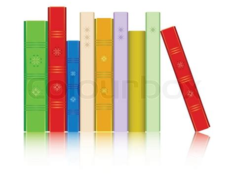 Best Home Interior Design Books Books In A Row Reflected Against White Background Abstract