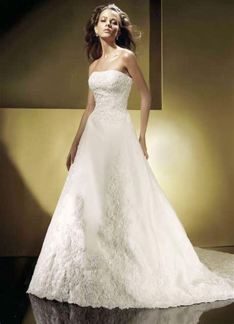 Brautkleider Schulterfrei by Strapless Beaded Wedding Dress Sang Maestro