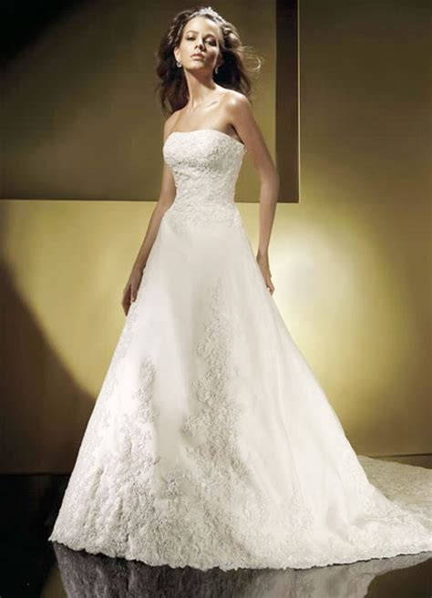 strapless beaded wedding dress sang maestro