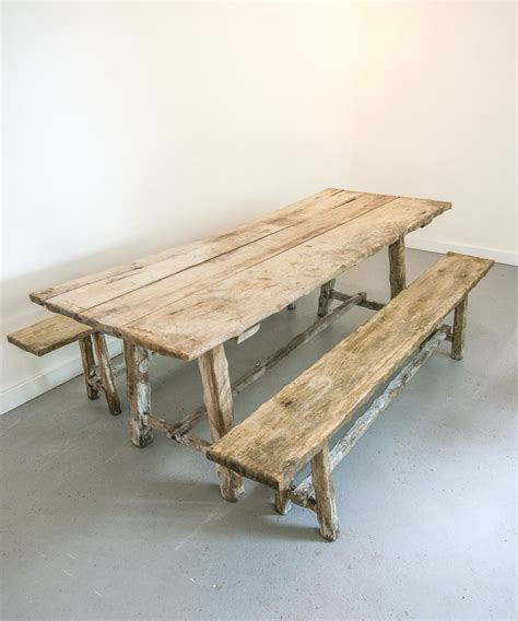 antique table bench antique oak table bench set vintage france design limited