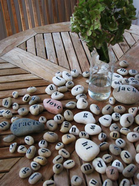 cool crafts   rocks pebbles  stones