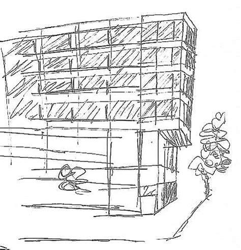sketch office building sketch of a building flickr