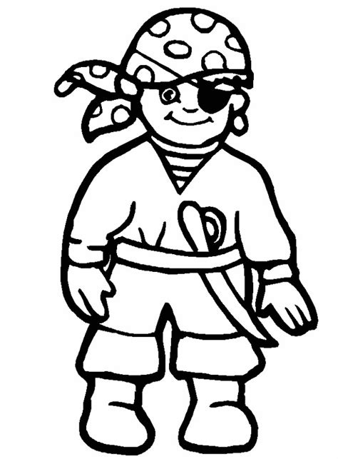 Free Pirate Coloring Pages For Kids Az Coloring Pages