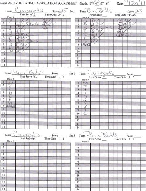 printable volleyball score book score volleyball score sheet