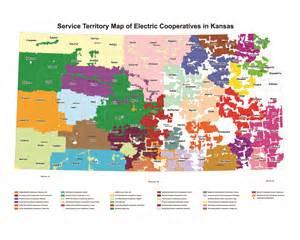 electric cooperatives map service area kansas electric cooperatives