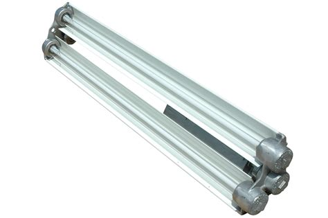 Paint Booth Light Fixtures New Explosion Proof Fluorescent Light From Larson Electronics Provides Dimming Capability